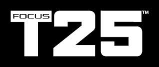 Focus T25 workout program  T25 Logo